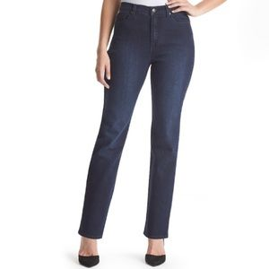 Gloria Vanderbilt Dark Wash Denim Jeans